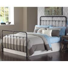 fairfield iron bed in dark roast humble abode