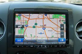 Navigation Map 2007 Ford F 150 Alpine X008u Navigation Head Unit Install