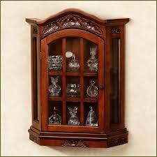 curio cabinet breathtaking white wall curio cabinet photo