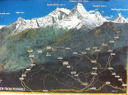 Himalayan Mountains Map Himalayan Hike The Middle Notwedordead