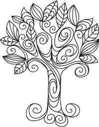 tree template home ideas and designs quilling pinterest
