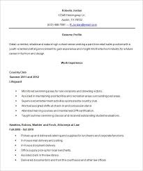 sle high student resume no experience resume template for highschool students necessary captures