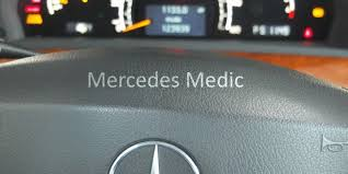 mercedes benz check engine light codes esp abs warning lights on