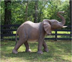 baby life size elephant statue sculpture jungle book dumbo