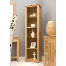 narrow wood bookcase narrow bookcase with some unique and