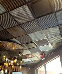Installing Ceiling Tiles by Best 25 Cheap Ceiling Ideas Ideas On Pinterest Corrugated Metal