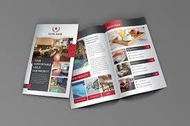 hotel brochure design templates 70 modern corporate brochure templates design shack