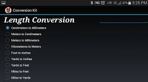 Meters To Feet by Conversion Kit Android Apps On Google Play