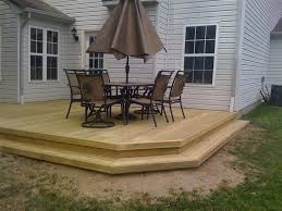 Small Backyard Deck Patio Ideas Best 25 Back Deck Designs Ideas On Pinterest Deck Deck Colors