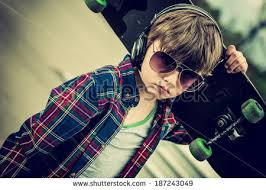 Cool Looking - two cool sunglasses looking tough stock photo 140188624
