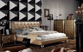 Golden Night Bed Decoration Bedroom Luxurious Design Of Italian Bedroom With King Size