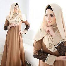 islamic muslim women u0027s two piece brown prayer cloth with hoodie ebay