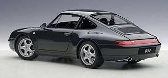 porsche 911 dark green porsche 911 993 carrera year 1995 dark green 1 18 autoart ebay
