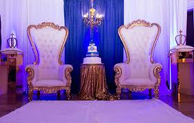 baby shower chairs amanda s decor royal prince baby shower