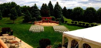 outdoor wedding venues arbor outdoor wedding venues eagle crest hotel golf resort