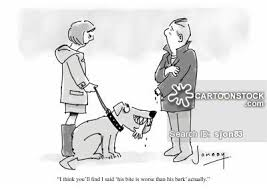 dog bite cartoons and comics funny pictures from cartoonstock