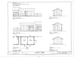 file milking room elevations floor plan and section dudley