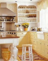 Yellow Kitchen Cabinet Yellow And White Kitchen Cabinets Ohio Trm Furniture