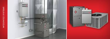 integrated heating u0026 water heating system by rheem