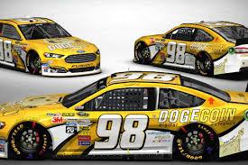 Doge Car Meme - dogecoin nascar s strangest hood sponsor will appear in its