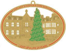 light up a 25th anniversary christmas ornament light up a