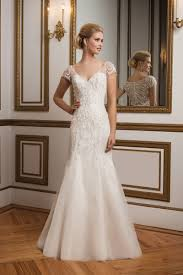 justin wedding dresses style 8846 intricate beaded back and cap sleeve wedding dress