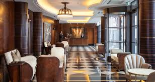 The Beaumont Interiors Luxury London Hotel Interiors LuxDecocom - Art deco bedroom furniture london