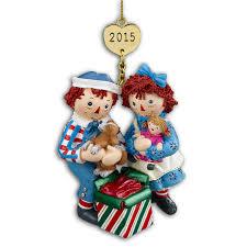 raggedy andy 2015 ornament by danbury mint