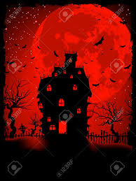 creepy crimson sky halloween background halloween transparent castle picture gallery yopriceville
