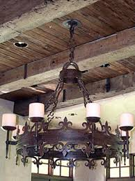 Gothic Chandelier Wrought Iron Potter Art Metal Studios Custom Lighting And Ornamental Ironwork