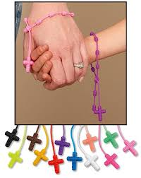 knotted rosary bracelet 24 pack knotted rosary bracelet assortment