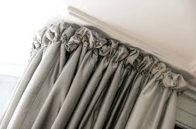 Really Curtains Puffball Curtains Puff Heading Gives A Soft Look Really