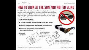 a solar eclipse can blind you read this before looking at the sun