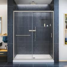 1000 Sliding Shower Door Dreamline Infinity Z 32 In X 60 In X 74 75 In Framed Sliding