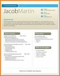 contemporary resume template modern resume template teller resume sle