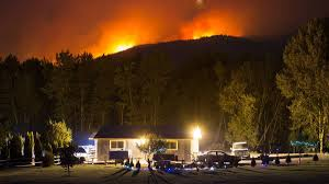 Wild Fires In Bc Right Now by State Of Emergency Declared As Wildfires Burn In Central B C