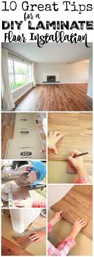 Laminate Flooring Installation Tips 10 Great Tips For A Diy Laminate Flooring Installation The Happy