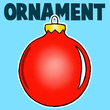 drawn christmas ornaments easy pencil and in color drawn