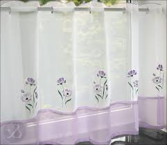 Cafe Style Curtains Black Kitchen Curtains White Kitchen Curtains By Awesome Grey And