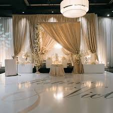 wedding event backdrop weddings wedding decor toronto a clingen wedding event