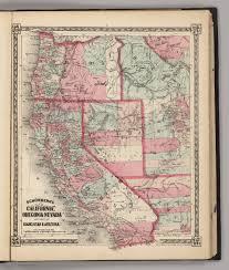 map of oregon nevada california oregon nevada with part of idaho utah arizona