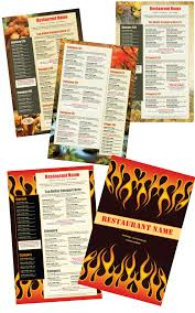 easy menu design online menu templates from the menu maker