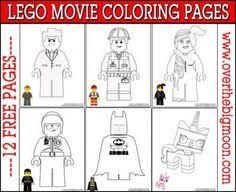 lego movie free pre worksheet packet lego movie movies