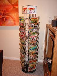 Comic Book Room Decor Wanted Comic Book Spinner Rack Collectors Society Message Boards