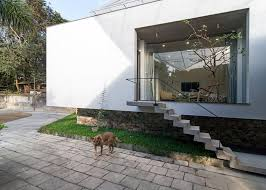nha4 designs flood proof extension for vietnamese house