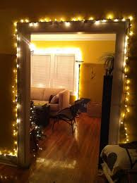 living room hanging christmas lights in room ideas net and how to