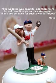 baseball wedding cake toppers boston sox baseball wedding cake topper new york