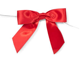 pre bows 3 pre satin bows with 5 twist ties 7 8 ribbon 26112