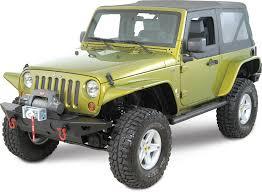 jeep wrangler unlimited flat fenders xenon flat fender style flare kit for 07 17 jeep wrangler jk 2