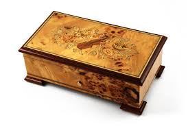 Unique Music Boxes Stunning 72 Note Sankyo Music Box With Musical Instruments